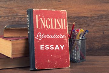How to write an English Literature Essay